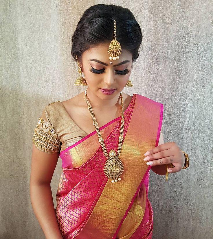"1,698 likerklikk, 22 kommentarer – DazzlingDarlingLondon➡MyLife (@dazzlingdarlingsuk) på Instagram: ""Did a bridemaids makeover look on Anu. Hair/Makeup/Saree Draping/Jewellery by #dazzlingdarlings ||…"""