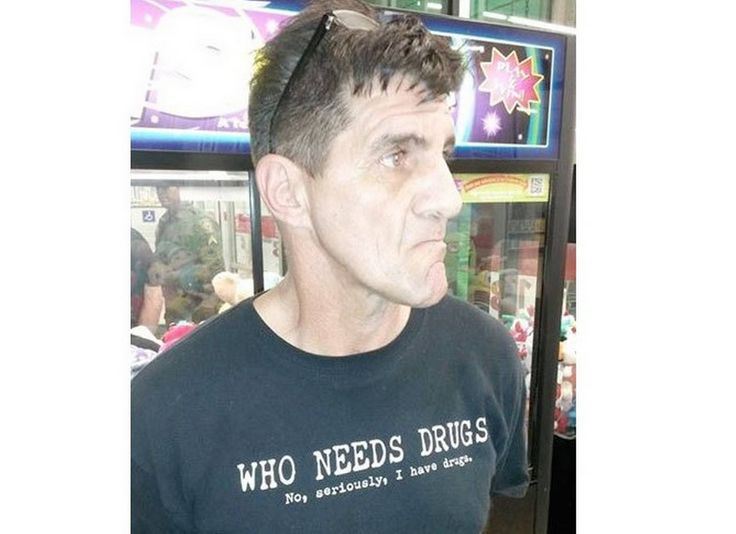 Pasco County Sheriff's posted a photo of the man on Facebook - Pasco County Sheriff's Office