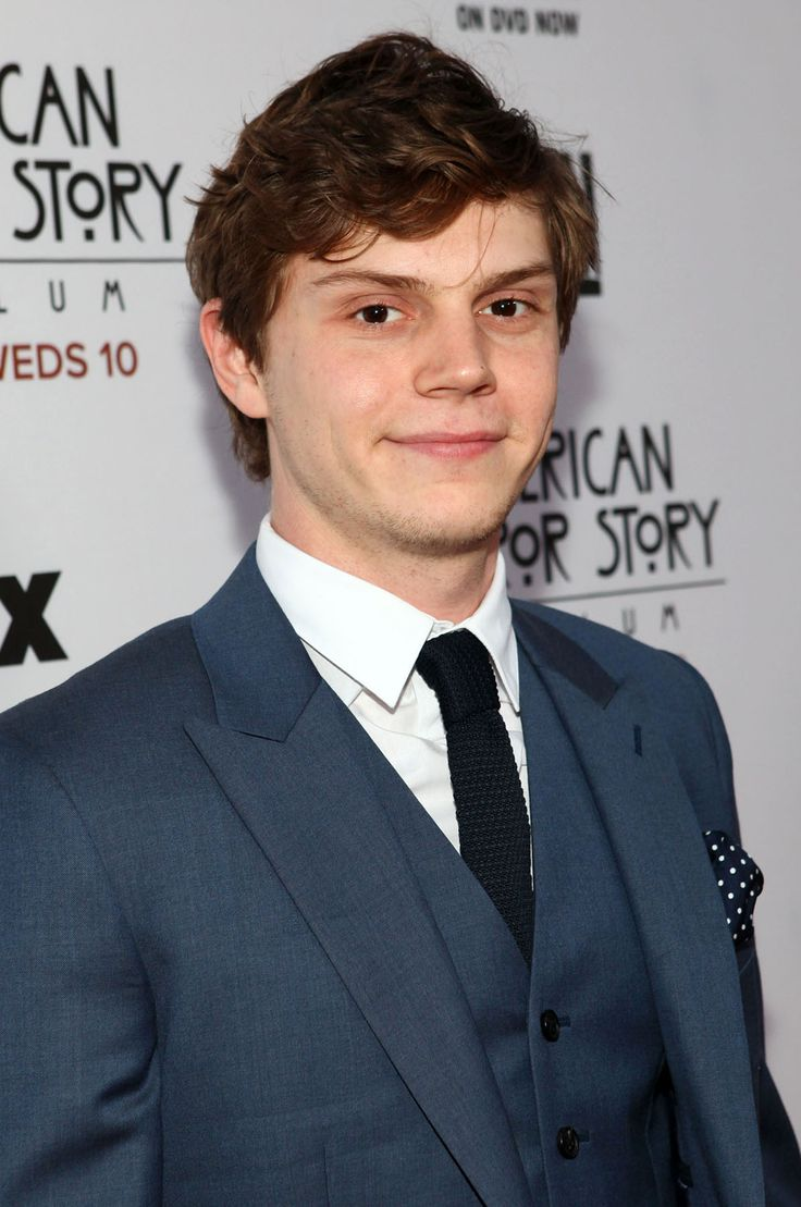 Evan Peters is an American actor. He is best known for his roles on the FX television series American Horror Story. FromSt Louis, MO
