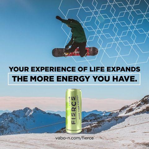 Skiurlaub & Powder-Glück gehört zum Winter, wie Strandurlaub & Badespaß zum Sommer – vor allem für uns Österreicher! ⛷️  Jede Piste erkunden. Neues ausprobieren. Alles geben. Einfach etwas erleben – damit dir dabei nicht die Puste ausgeht, benötigst du eine ganz schöne Menge an Energie! 💪 Also, FIERCE einpacken und die Pistengaudi ist garantiert! 😉👍 #vabo_n #energy #vitality #befierce