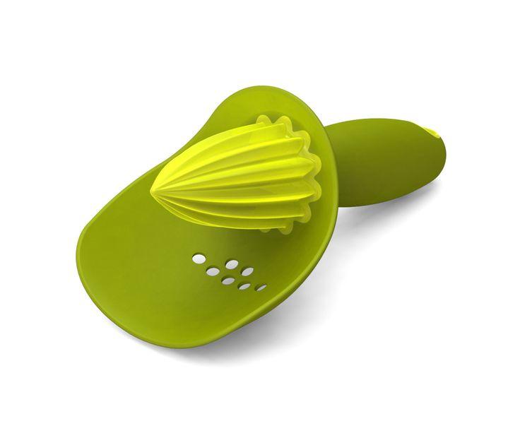 Espremedor De Frutas Manual Verde E Amarelo   Joseph U0026 Joseph