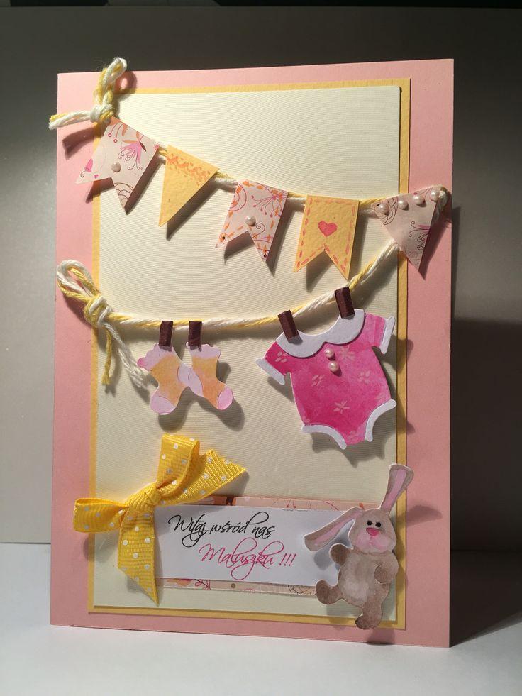 Kartka dla dziecka baby card