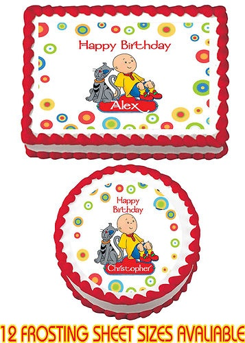 10 best Caillou Birthday Party images on Pinterest Birthday