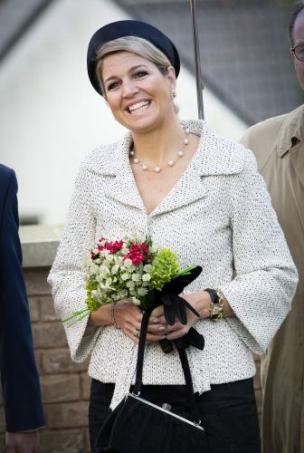 Queen Maxima at the opening of the Fioretticollege in Hillegom