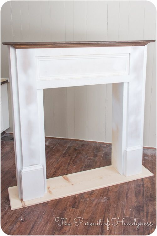 http://thepursuitofhandyness.com/diy-faux-fireplace-part-1/