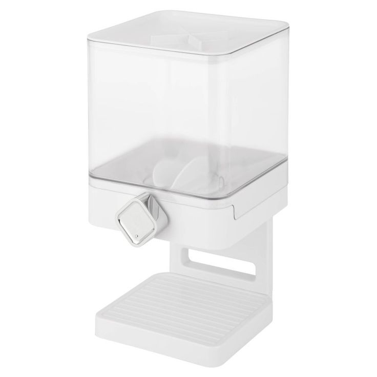 Honey Can Do Compact Edition Dispenser White/Chrome - KCH-06129