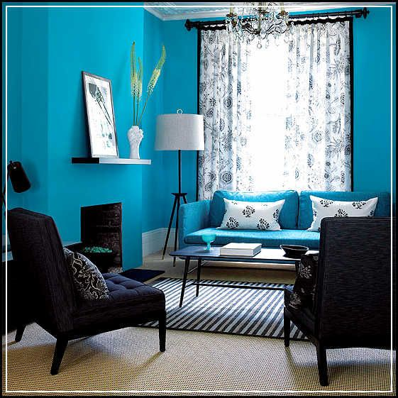 blue and tan living room decorating ideas