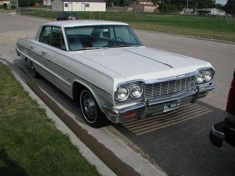 1964 Chevy Impala 4 Door Hard Top This One Has Power Windows Impala Pretty Cars Chevy Impala