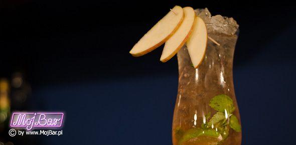 PALM SPRINGS Odświeżający i aromatyczny: rum złoty - 20ml, likier z marakuji - 20ml, żurawinowy sok - 40ml, jabłkowy sok - 20ml, mięta w listkach - 6szt, limonka ćwiartka - 2szt Przepisy na drinki znajdziesz na: http://mojbar.pl/przepisy.htm