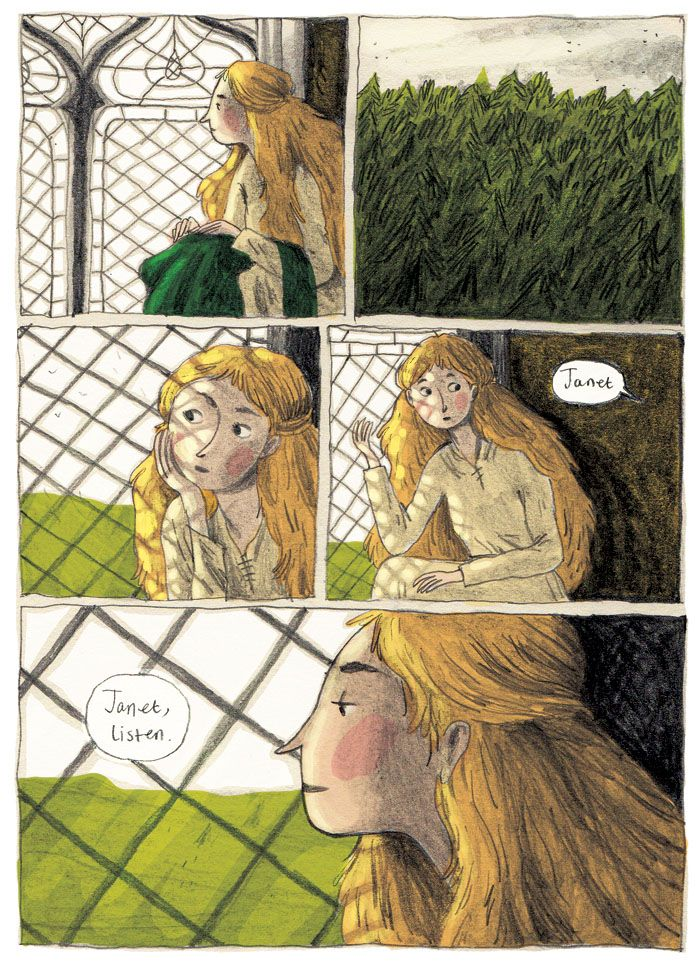 Tam Lin Comic - Briony Smith