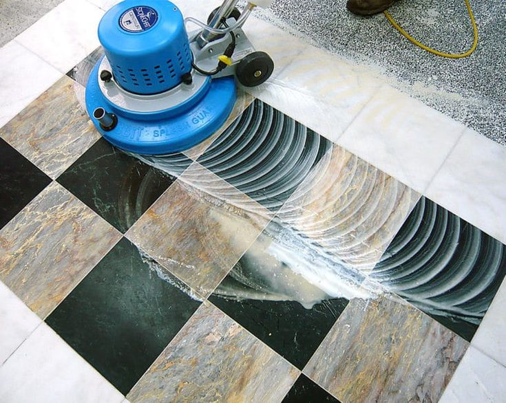 how to clean marble floors at home