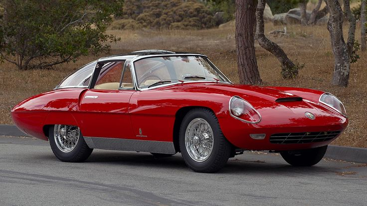 Alfa Romeo 6C 3000 CM Pininfarina Superflow IV. This is the one and only survivor