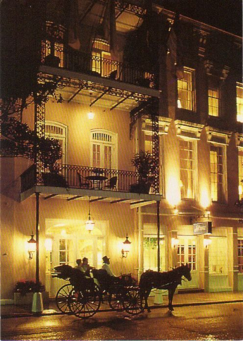 Front of Bienville House Hotel