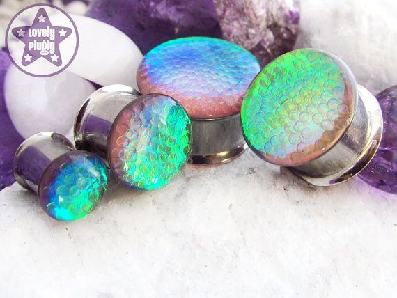 Hey, I found this really awesome Etsy listing at https://www.etsy.com/listing/183547136/quantum-foam-pink-green-blue-bubble-plug