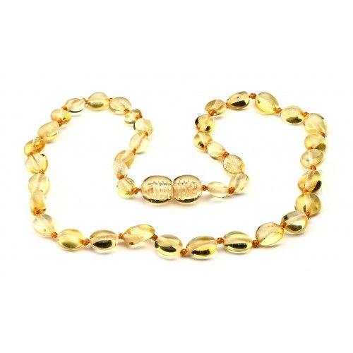Amber teething necklace - Lemon (tears)