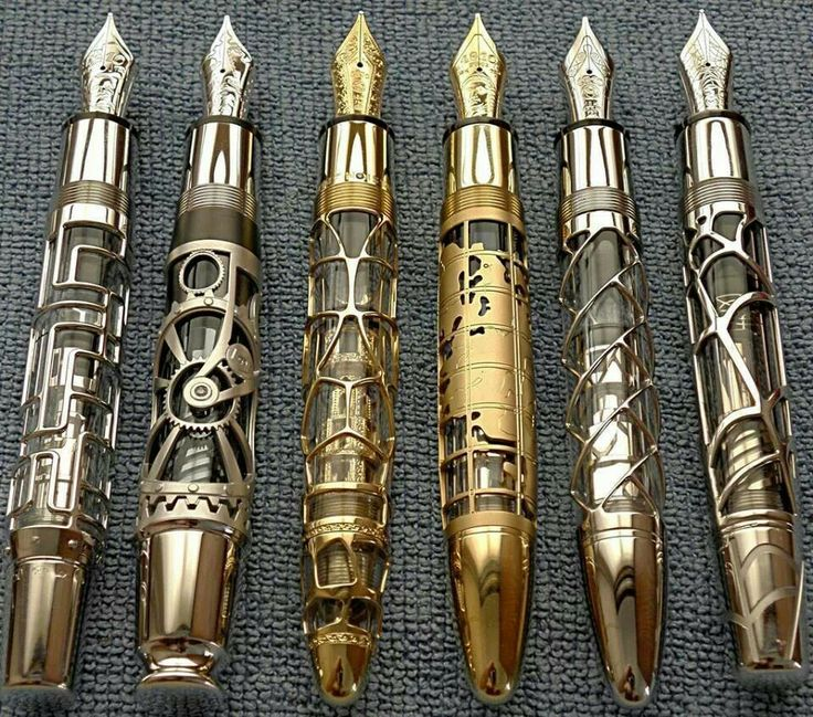 Steampunk pens? Sonic screwdriver pens to me.