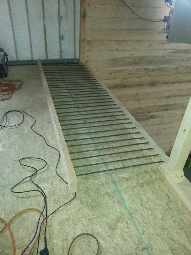Best Early Stages Of The Rebar Railing Rebar Railing Railing 400 x 300