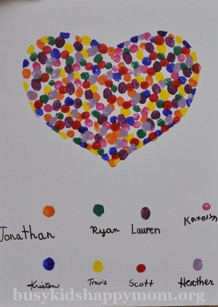 Fingerprint Heart Project