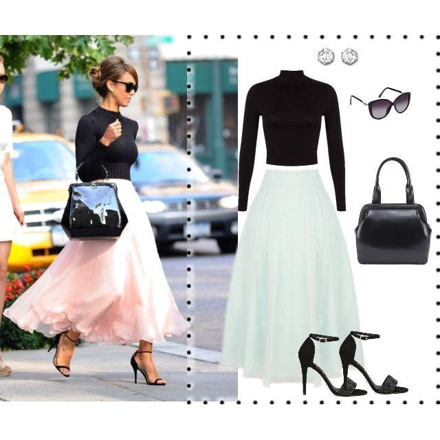 Perfect way to wear a Tulle Skirt  #tulleskirt #getthelook #lovemylook