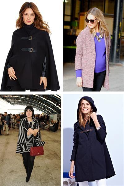 Тёплое пальто для беременных