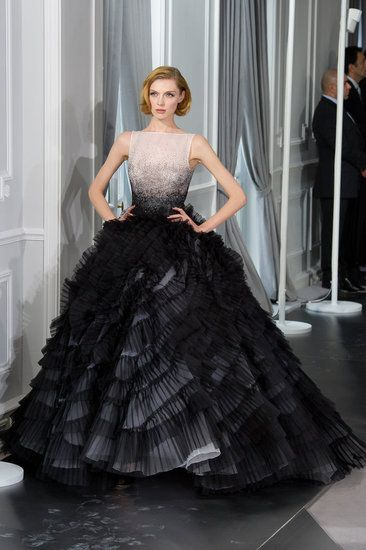 Christian Dior's Spring 2012 Couture collection, by Bill Gaytten