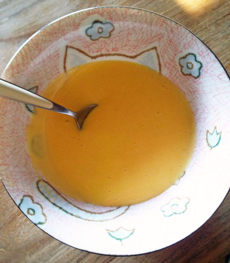 una delle pappe preferite di mia figlia... #carrots #soup