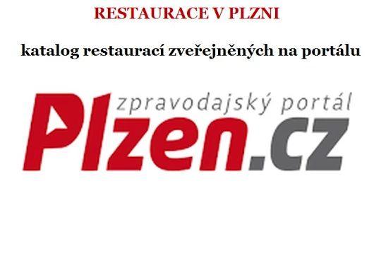 Restaurace Plzeň: Restaurace v Plzni zveřejněné na portálu plzen.cz v katalogu firem.