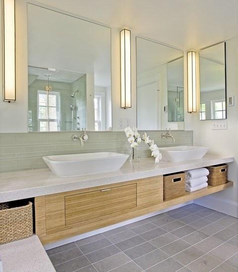 Salle de bain zen nature
