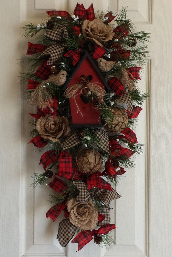 Large Outdoor Christmas Wreath With Lights