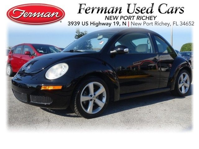2008 Volkswagen VW Beetle   Black  Http://www.fermannissanofnewportrichey.com/