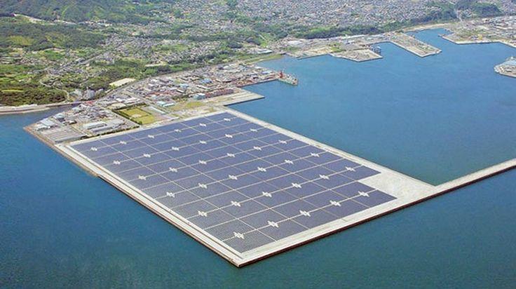 Türkiye'nin ilk yüzen güneş santrali Seferihisar'da yapılacak
