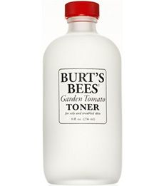 I never used to believe in toner, but this one actually helps tone down my shiny shiny skin. The spicy tomato scent is yummy, and... the bottle looks pretty on the shelf.