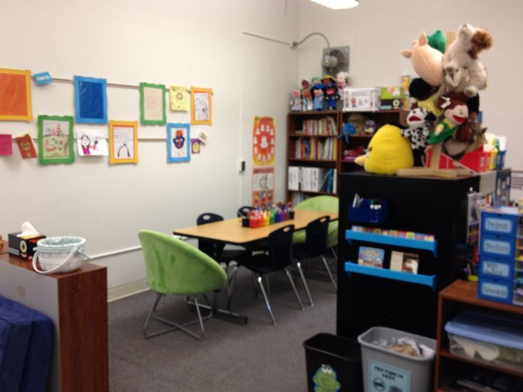 Elementary School Counselor office and materials