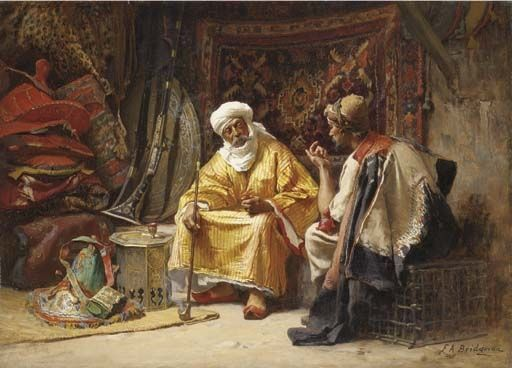 Frederick Arthur Bridgman   The Rug Merchant