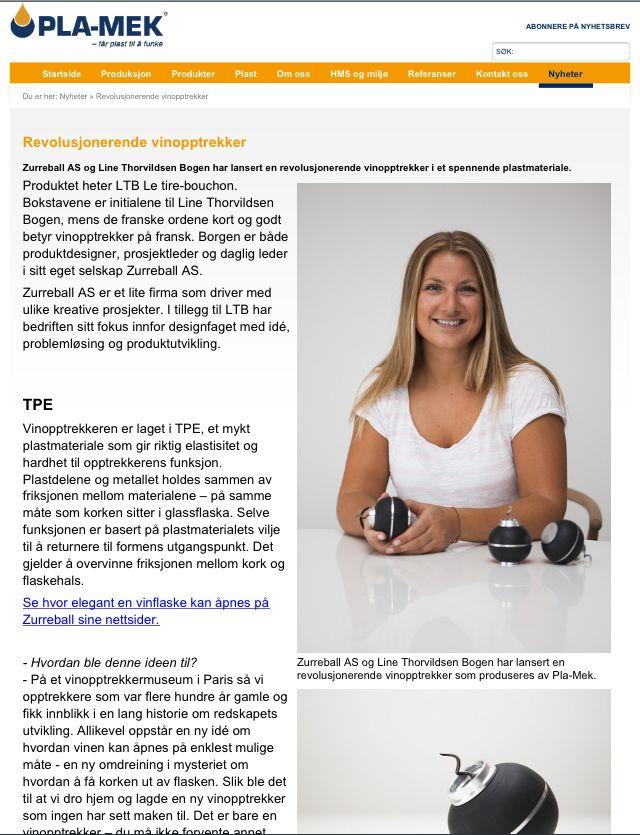 Line T. Bogan - LTB corkscrew Designer