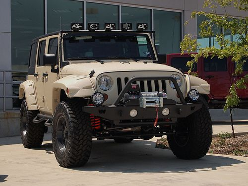 Jeep Wrangler Unlimited With Line,X Body DREAM WHIP