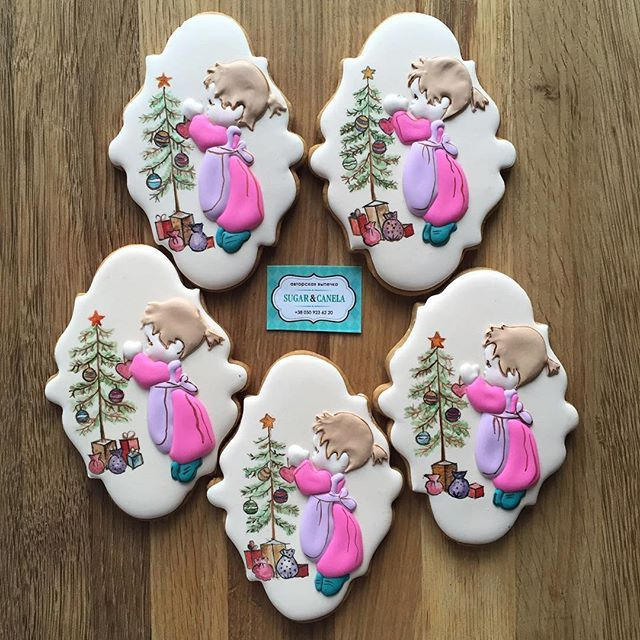 Holly Hobby Christmas cookies ???  Does it get any better ? NO !