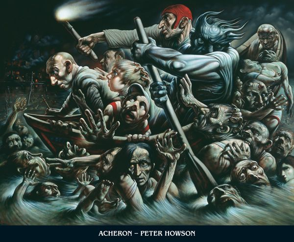 PETER HOWSON ACHERON I adore Peter Howson's work
