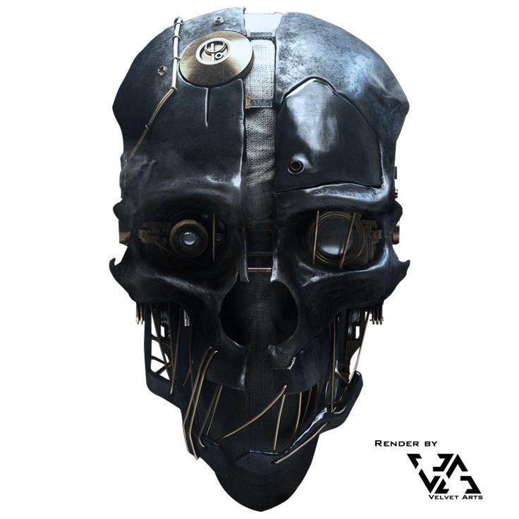 Dishonored Mask Stock/Render by JulianZett