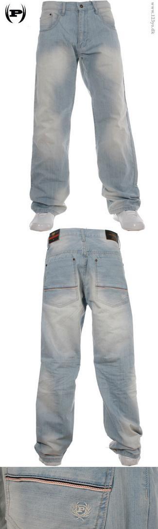 Klassisk jeans fra Phat Farm i virkelig fed lyse blå farve. Kan fås fra størrelser 30 til 44. Se mere i vores hip hop og street wear tøj butik www.123yo.dk