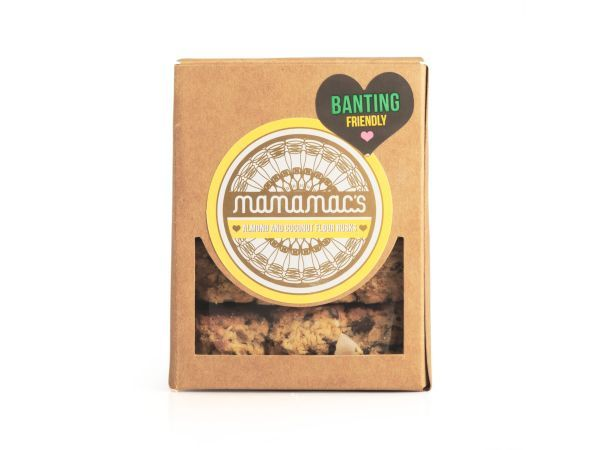 Mamamac's Almond and Coconut Flour Rusks, 200g - They're almost a symbol of South Africa, and there's nothing quite as satisfying as one dipped in a mug of tea. Rusks are an important part of the fabric of our culture, and we love these from Mamamac's.