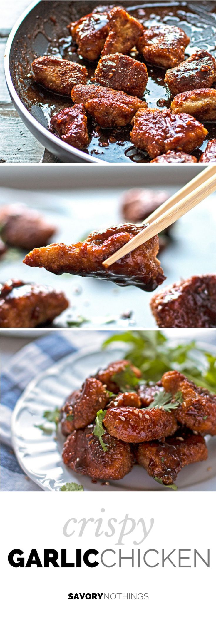 Crispy Garlic Chicken  [ PropFunds.com ] #food #funds #saving