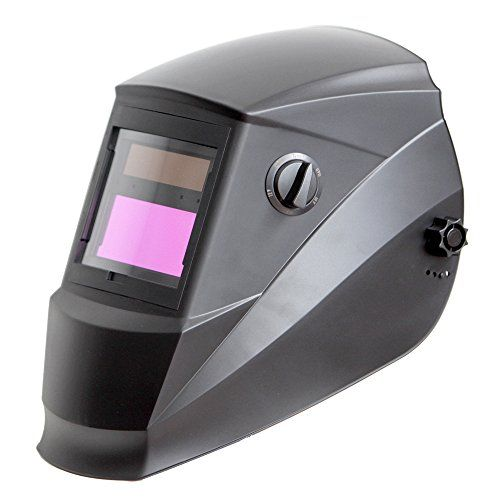 Antra AH6-260 Series welding helmet is extremely fast responsive to electric arc from TIG, MIG, MMA or Plasma applications. This light weight welding helmet is so versatile that it can be used on grinding, cutting and welding applications. It is a perfect upgrade for goggles and fixed shade...