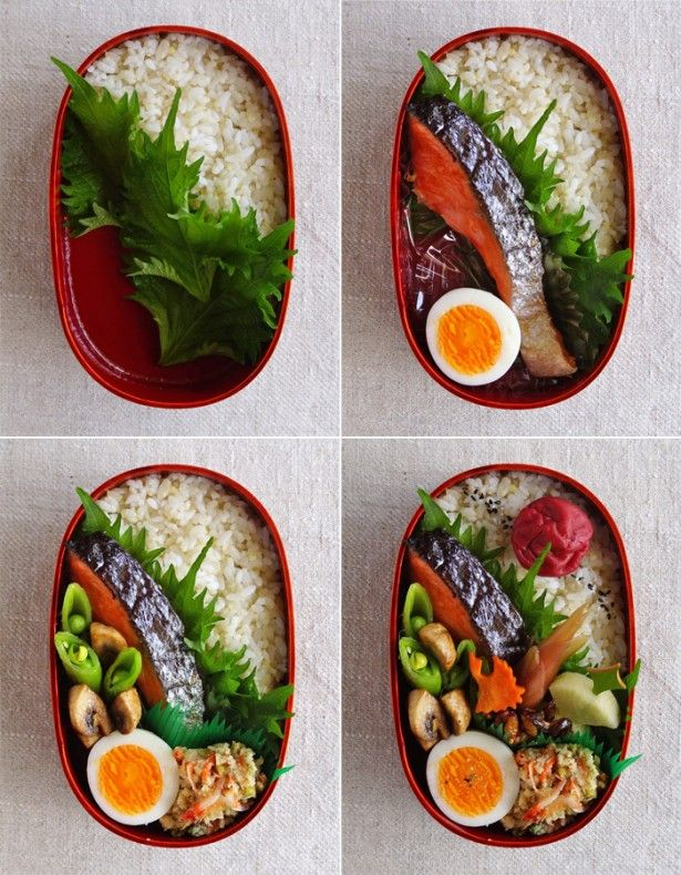 まずここから!基本のお弁当の詰め方~鮭弁当(画像 2/ 4) - レタスクラブニュース