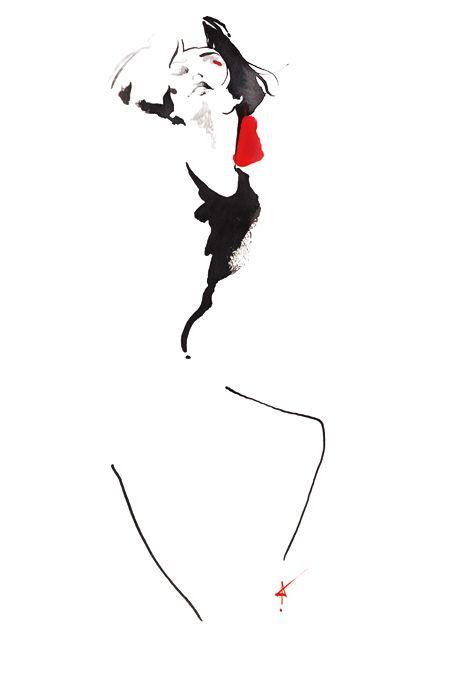 Fashion illustration // Yasunari Awazu