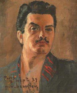 Paul-Vanier BEAULIEU, autoportrait, 1939