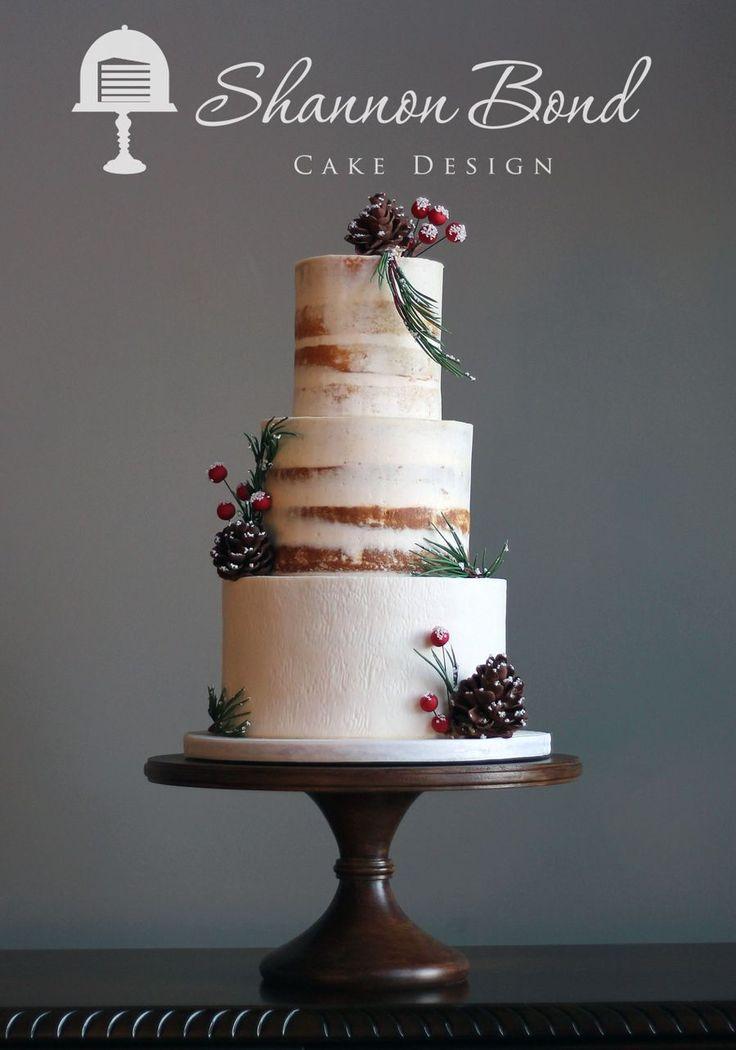 Winter Wedding Cake on Cake Central 236