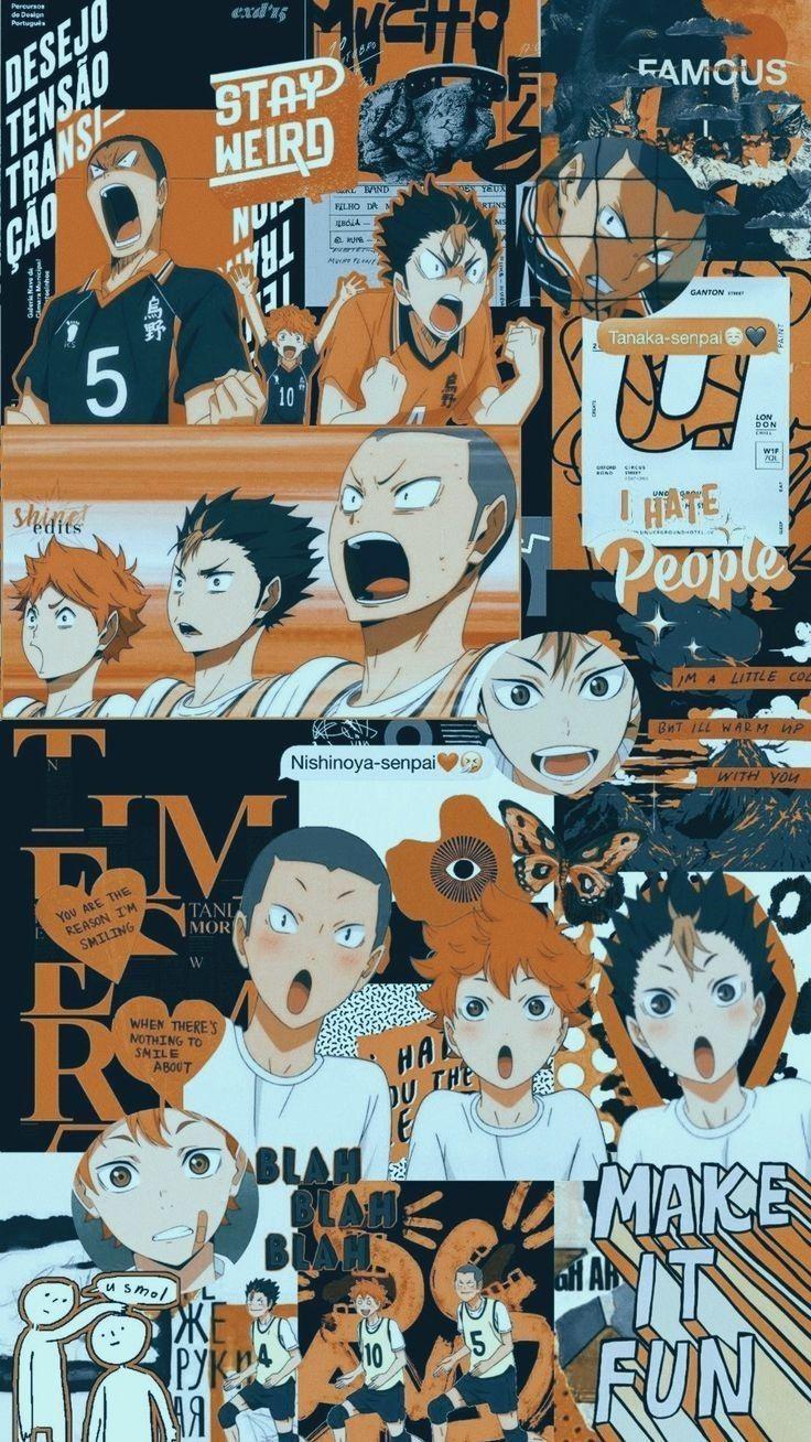 Loading Cute Anime Wallpaper Haikyuu Anime Anime Wallpaper Iphone