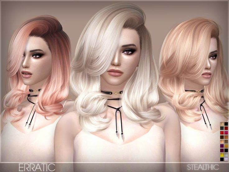 Stealthic - Erratic (Female Hair) - The Sims 4 Catalog
