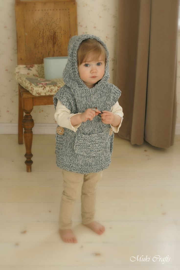 This is knitting pattern for poncho Phoebe with a hood and pocket. The pattern includes instructions for making a simple shaped hooded poncho or cute lop-eared bunny poncho with a fur tail. Knit this poncho in cotton+silk for sun protection in summer or in alpaca for layering on colder days. The pattern comes in English, Spanish and Italian - choose the correct file when downloading  *** This listing is only a PDF PATTERN in ENGLISH, SPANISH and ITALIAN, not a finished product ***  Sizes for…